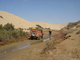 oued back to the main road